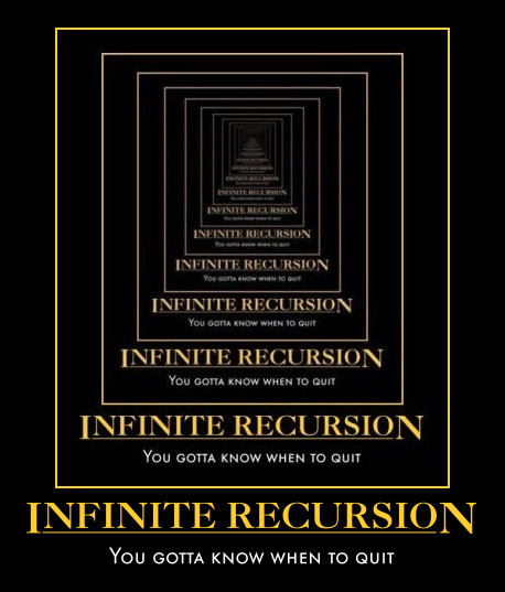 infinite-recursion