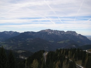 Aussicht von der Ahornalm