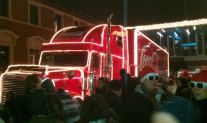 Coca Cola Weihnachtstruck